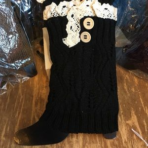 Accessories - Lace Knit Boot Cuffs👢👢