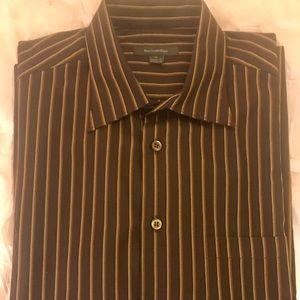 Men's Ermenegildo Zegna Striped Long Sleeve Shirt