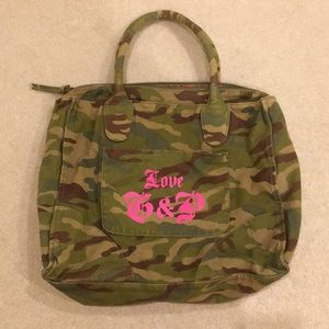 Juicy couture camo bag