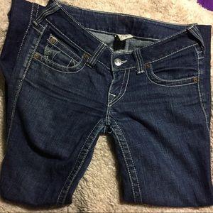 True Religion blue jeans 28