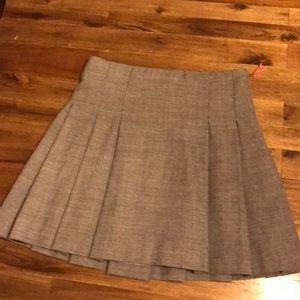 Crewcuts Grey Pleated Skirt