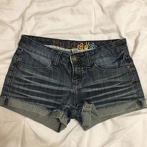 Mudd Cuffed Shorts