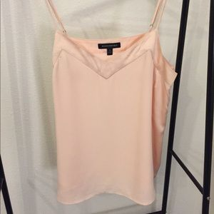 Blush Satin Trim Camisole