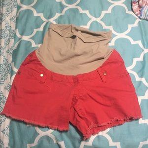 Maternity shorts!