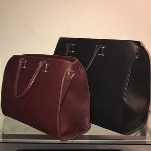 SALE Final Gorgeous 2pc H&M Satchel bag lot!