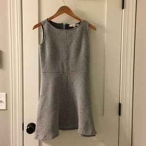 Loft Gray Dress-Ribbed