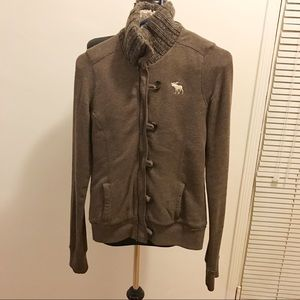 abercrombie and fitch fleece jacket