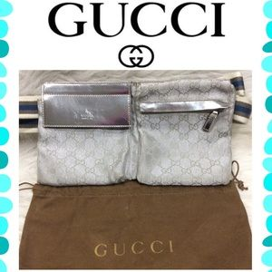 Authentic Gucci Monogram Fanny Pack 🌺 FIRM PRICE