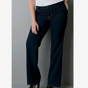 Lane Bryant distinctly boot  ootvut jeans 24p