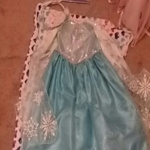Elsa from Frozen dress with the crown