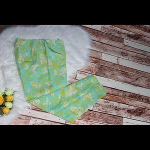 Cute 😊 Dana Buchman Silk Butterfly printed pants
