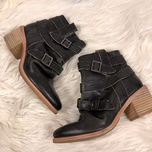 Kelsi Dagger Brooklyn Grand Buckle ankle boot