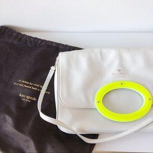 🆕 Kate Spade white shoulder clutch