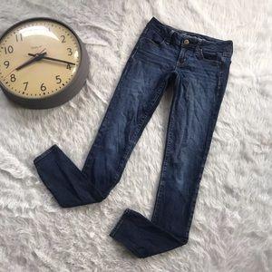 American Eagle Skinny Jeans Dark Wash Hipster