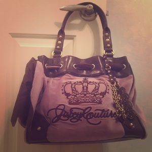 Purple juicy couture bag