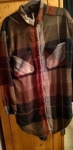 Cozy flannel dress.