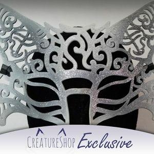 3D Printed Arctic Fox Filigree Mask