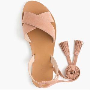 J. Crew wrap sandal - size 10