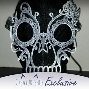 3D Printed Day of the Dead Filigree Mask