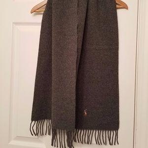 Ralph Lauren Polo Wool Scarf
