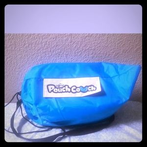 As Seen On TV Pouch Couch Inflatable Air Lounger,