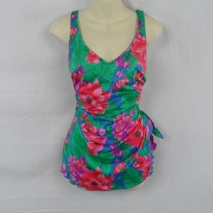 Other - 70s Floral One Piece Swimsuit