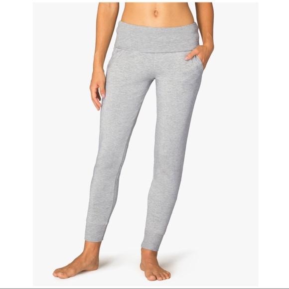 6a94598dd7db5 Beyond Yoga Pants - Beyond Yoga Cozy Fleece Foldover Lounge Pants Sz L