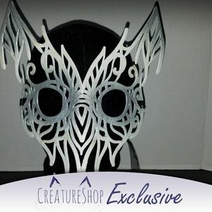 3D Printed Snowy Owl Mask