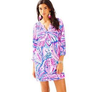 Lilly Pulitzer Sleeved Essie Dress Shelled Out