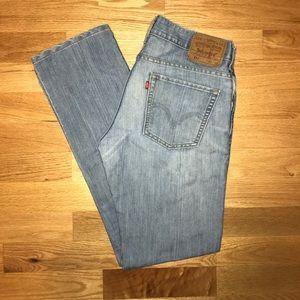 Levi's 511 Slim/Skinny Blue Jeans