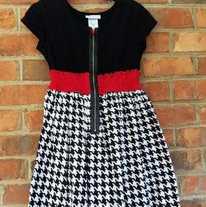 Bonnie Jean black white red dress
