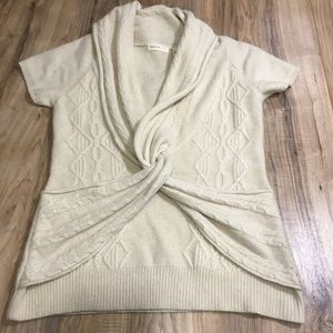Anthropologie sleeping in snow sweater
