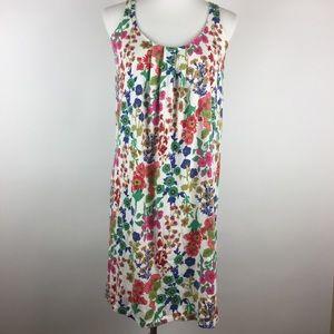 Boden Dress Size 4R Removable Belt Floral