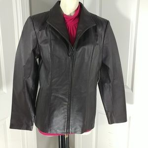 East5th Women's LEATHER jacket. NWT