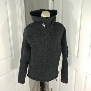 BACKCOUNTRY Men's Sweater Jacket Hoodie Sz-Lg