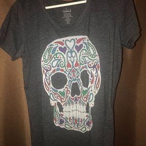 Torrid Sugar Skull T-shirt