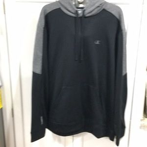Champion Black Grey Sweatshirt XLT