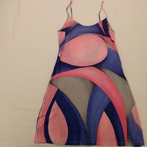 La Perla Malizia abstract silk nightie / slip