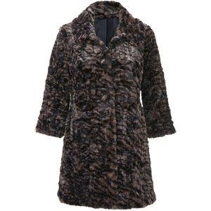 RARE. Cabi Minka faux fur Coat. Limited Edition!!!
