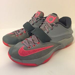 da9849d2cdfe ... where to buy nike shoes nike kd durant vii 7 gray pink mens size 8.5  5538f