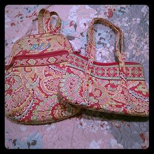 Vera Bradley small backpack and small bag