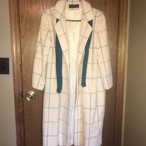 Alorna classic long polo coat 8/10P