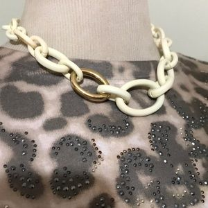 BANANA REPUBLIC CHAINED NECKLACE