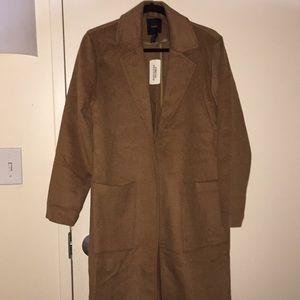 Duffle trench coat