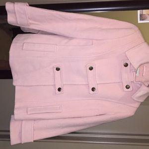 Light pink pea coat