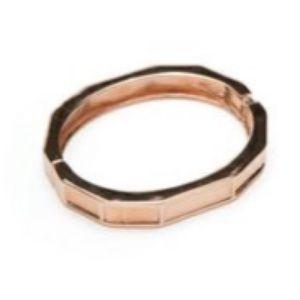 Jewelmint ROUGE GOLDEN BANGLE Bracelet Rose Gold
