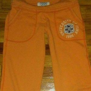 Victoria's Secret PINK Lounge Pants Orange