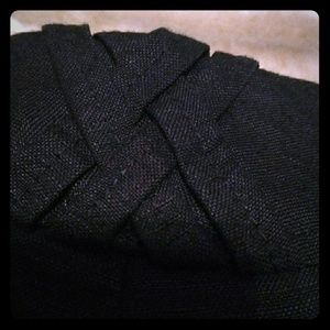 Larry Levine petite sport black cropped pants 10p