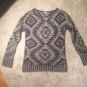 Winter ❄️ Woven Aztec Sweater