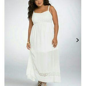 Torrid Boho Gauxe Maxi Dress